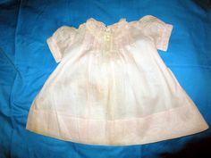 Antikes Kleid /Biedermeier für Puppe,Baby um die 1920-handangefertigt