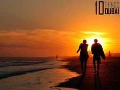 8. Walk on Beach  - 10 Things Dubai