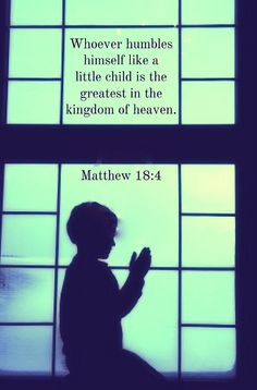 Matthew 18:4 #Bible #Scripture