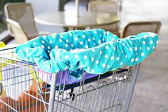 A Universal Shopping Cart and High Chair Cover (A Tutorial and Free Pattern Download)