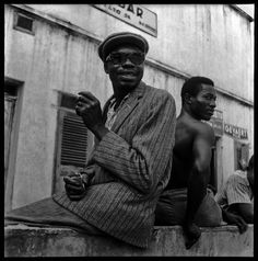 "anotherafrica: "" SARTORIAL LOOKS #24 PORTRAIT | Jean Depara, Self-portrait, DRC ca 1960s Image courtesy of the artist and Revue Noire ( Paris). """