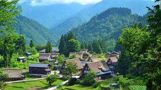 21-paysages-magnifiques-japon Le village de Gokayama, à Toyama