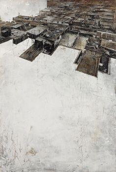 罪Ⅱ 詹莊軒 油畫 130x89x5cm