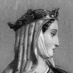Eleanor of Aquitaine inherited her father's lands in 1137, and married Louis VII of France that same year. Their marriage was annulled in 1152. She then married Henry II of England, bearing him eight children including sons Richard (the Lion-Hearted) and John who would both become king. Eleanor promoted courtly culture, including troubadour songs, and was a savvy military adviser to her sons.