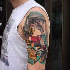 by Peter Aurisch, Berlin Computer Tattoo, Tech Tattoo, Chest Piece Tattoos, Original Tattoos, Cool Tattoos, Tatoos, Tattoo Inspiration, Tatting, Instagram Posts