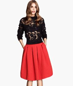 Perfect Holiday Skirt Product Detail | H&M US
