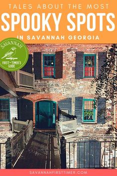 Get the inside scoop on the most haunted places in Savannah, Georgia, as told by a local. Discover the #1 spookiest spot you can visit!   savannahfirsttimer.com #savannah #savannahftg #haunted