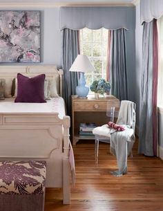 Carter | Gray Walker Interiors#decorating #homedecor #decor #decorideas #bedroom #curtains #drapery #windows #charlotte #nc #design #roomideas #house #bedroomdecor