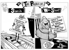 somali piracy cartoon - Google zoeken Somali, Cartoons, Comic Books, Humor, This Or That Questions, Memes, Google, Cartoon, Cartoon Movies