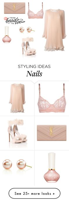 """""""♥"""" by macopa on Polyvore featuring Yves Saint Laurent, Paul & Joe Beaute, STELLA McCARTNEY, Jeffrey Campbell and Chloé"""