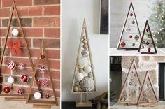 Alberi Di Natale In Legno Da Appendere : Fantastiche immagini in alberi di natale in legno su