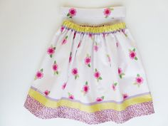 girls cotton skirt 4yrs 4T childrens clothes by JanJanCreations