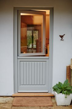 Myth: Wood windows will rot quickly. Truth: 'In fact, once you maintain and repaint wood windows, their lifespan starts all over again,' say the Wood Window Alliance. Wood Windows, Wood Doors, Windows And Doors, Wooden Back Doors, Entrance Doors, Patio Doors, Garage Doors, Front Doors, Metal Exterior Doors