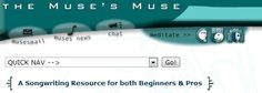 Songwriting Resource - http://www.musesmuse.com/