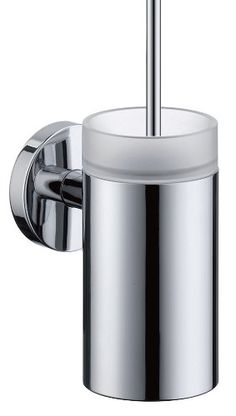 Hansgrohe 40522000 S and E Accessories Toilet Brush with Holder, Chrome Hansgrohe http://www.amazon.com/dp/B001EQJW5I/ref=cm_sw_r_pi_dp_PN0axb1TG8BAR