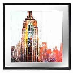 The City Never Sleeps 1 | Framed Art | Art by Type | Art | Z Gallerie