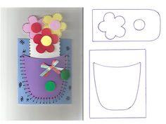 moldes lembrancinhas EVA | moldes cartões de e.v.a para o dia das mães