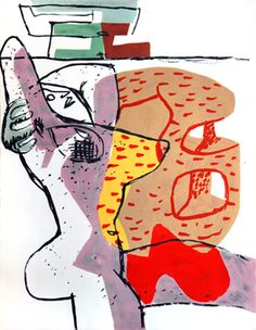 Le Corbusier. Figurative Abstract. ●彡
