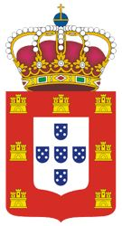 Coat of Arms Kingdom of Portugal Portuguese Royal Family, Portuguese Flag, History Of Portugal, Casa Real, Lisbon Portugal, National Flag, Coat Of Arms, Old Pictures, Old Things