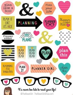 Honey Girl Mixed Messages Planner Girl Edition