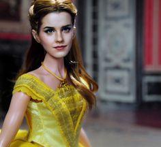 Emma Watson As Belle Custom Repaint Of 11 Inch Disney Store Doll From The Beauty