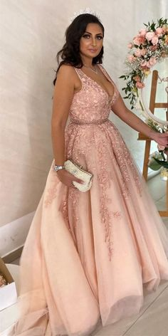 Description: *** Customer service email: sweetdressy@outlook.com ***when you order please leave your phone number for shipping needs.(this is very important ) Prom Dresses Long Pink, Tulle Prom Dress, Lace Dress, Formal Dresses, Prom Gowns, Dress Long, Quinceanera Dresses, Women's Dresses, Formal Prom