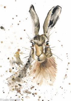 ' Hazel Hare' Limited Edition signed Giclee Print
