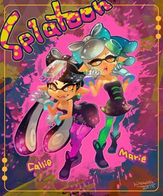 pixiv Spotlight - Comics: Things that happen in Splatoon! And Squid Sisters!