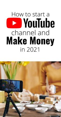 How to make money on Youtube. Ways to make money from home