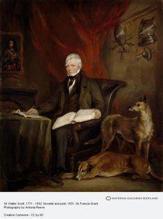 Sir Francis Grant, Sir Walter Scott, 1771 - 1832. Novelist and poet (1831)