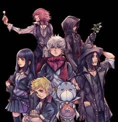 Okay, first thing, black coat guy has bangs. Second what is ventus holding. Third, is it just me or does that bag look familiar (around chirithy's neck) ? Media Tweets by KHInsider (@Daybreak_Town) | Twitter