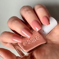 Essie Gel Couture Pinned Up Blush Nude Nails Manicure