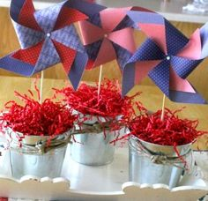 Independence Day table scapes