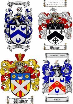 Walker Coat of Arms / Walker Family Crest