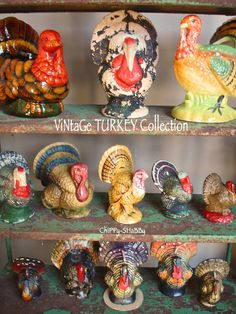 Vintage turkey collection from ChiPPy! - SHaBBy!
