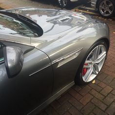 Aston Martin Virage just been fully Carbon Collective Platinum paint/wheels & glass protected.