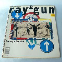 Ray Gun Magazine #10 October 1993 Teenage Fanclub. David Carson art direction