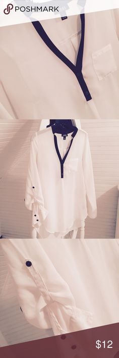 A.BYER SHEER BLOUSE Great condition never worn selling for a friend:) Tops Blouses