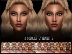 The Sims Resource: R skin 7 for her by RemusSirion • Sims 4 Downloads