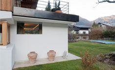 Esszimmer Haus G°E°E - HK Architektur St. Johann in Tirol Outdoor Decor, Home Decor, Modern Log Cabins, Dining Rooms, Architecture, Essen, Pictures, Floor Plans, Balcony