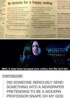 newspaper article may or may not be real but if it s real wow - might just  be a fake story but still Harry Potter fans would be all
