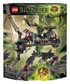Amazon.com: LEGO Bionicle Umarak the Hunter 71310: Toys & Games