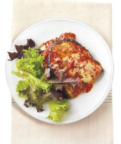 Eggplant Lasagna With Herbed Ricotta and Asiago recipe