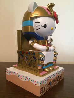 """nuclearmime: """" Hail Kittypatra! Ever since seeing the ENORMOUS Kittypatra statue at the Japanese American National Museum in Downtown LA, I fell in love with the design and wanted one of my very own!..."""