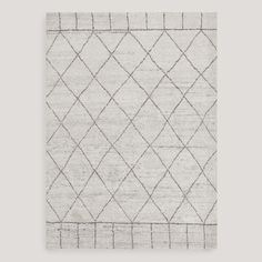 Manal Knotted Wool Rug | World Market (2 x 3 is $81)