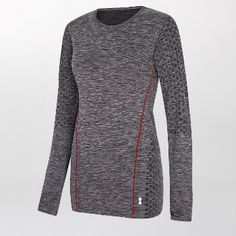 Every Second Counts Balance Top: This Balance Top by Every Second Counts has a loose fit with a classic round neck. It also features thumbholes and seamless technology, great as a sports top or for layering.
