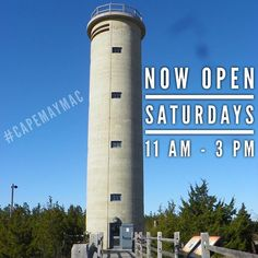 O P E N I N G • D A Y // It's been a long winter but spring is here… kind of. The WWII Lookout Tower is open for the season!!! Saturdays 11…
