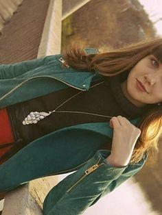 Модели, сшитые по выкройке Юбка расклешенного силуэта Leather Jacket, Skirts, Jackets, Fashion, Studded Leather Jacket, Down Jackets, Moda, Leather Jackets, Skirt