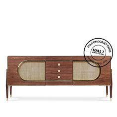 NEW DANDY SIDEBOARD BY ESSENTIAL HOME   Essential Home - Mid Century Furniture   www.bocadolobo.com/ #partnerbrands #luxuryfurniture