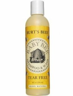 Burt's Bees Baby Bee Shampoo & Wash, Tear Free, 12 oz. by Burt's Bees. $10.34. Burt's Bees Baby Bee Shampoo and Wash uses truly natural ingredients for the delicate nature of your baby's hair and skin. Our pure, tear-free formula contains a gentle cleansing blend of coconut and sunflower oils. We add soy protein to nourish and moisturize, and sugar esters to soothe and soften for an all-in-one shampoo and wash that will leave your baby naturally clean, soft, and snuggable.